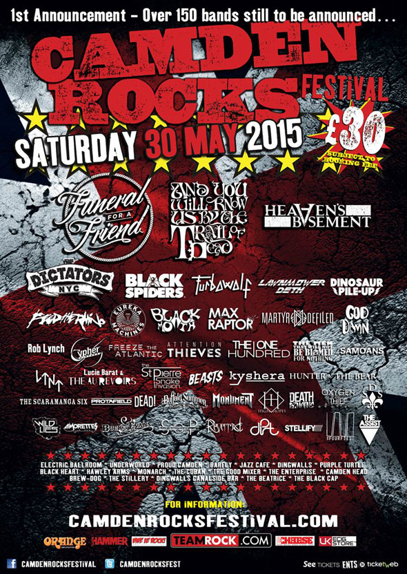 Camden Rocks poster