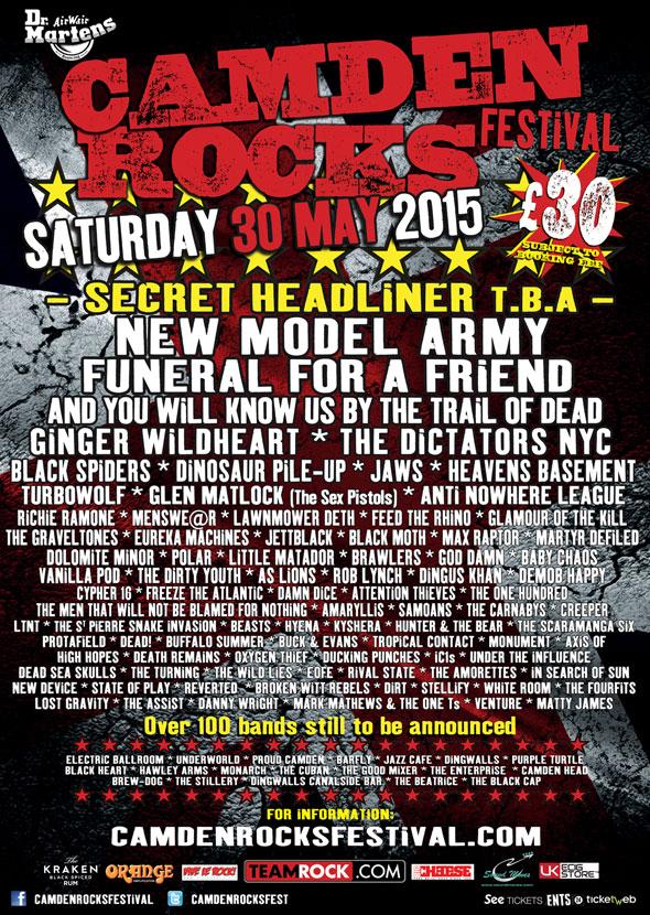 Camden Rock 2015