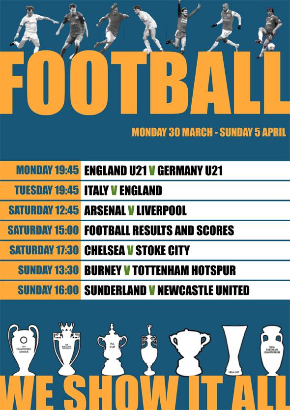Camden Enterprise Sport Listings 30 March
