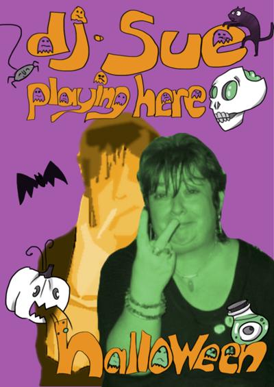 DJ Sue Halloween